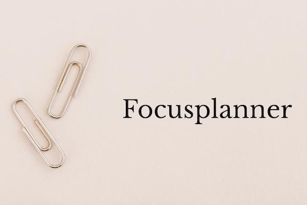 Focusplanner